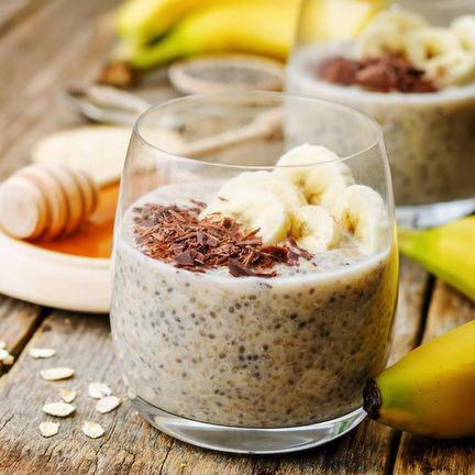 Чиа пудинг с корицей и бананом| Organic&Natural
