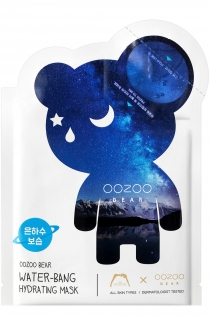 "Маска для Глубокого Увлажнения ""Мишка Млечный путь"" Двухфазная THE OOZOO Oozoo Bear water-bang hydrating mask  фото №1"