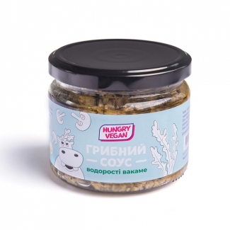 Грибной соус-паштет с водорослями вакаме, 260 грамм фото №1