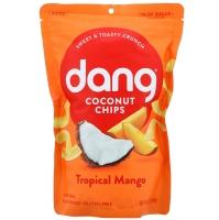 Toasted Coconut Chips, натуральные кокосовые чипсы с манго, 90 грамм
