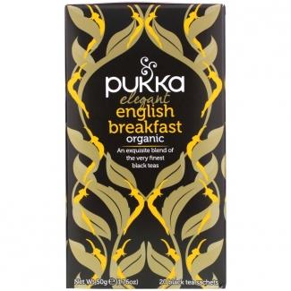 """Органический черный чай  """"Elegant English breakfast """", 20 пакетиков фото №1"""