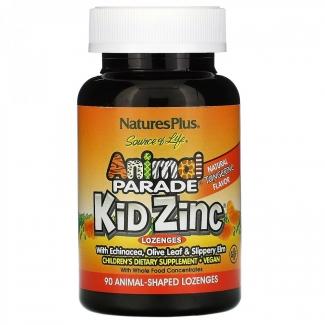 Цинк для детей в виде таблеток для рассасывания со вкусом мандарина, 90 таблеток фото №1