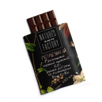 Черный шоколад с гречишным чаем