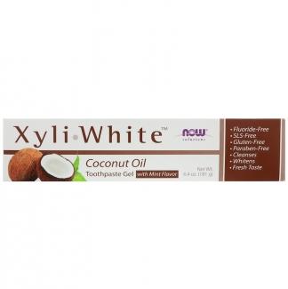 XyliWhite Зубная паста - гель, кокосовое масло со вкусом мяты 181гр фото №1