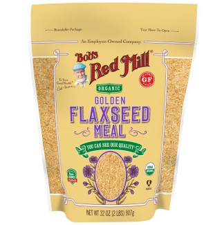 Органические цельные золотые семена льна 368 грамм фото №1