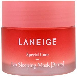 Ночная маска для губ с ягодным экстрактом, 20 г фото №1