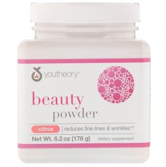 Youtheory Beauty Powder Косметическая пудра со вкусом цитруса, 176г фото №1