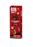 """Натуральные яблочно-вишневые конфеты без сахара с шоколадом """"Улитка Боб"""" 30 грамм"""