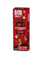 """Натуральные яблочно-вишневые конфеты без сахара с шоколадом """"Улитка Боб"""" 60 грамм"""