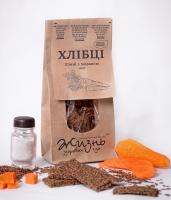Хлебцы льняные с морковью 100 грамм