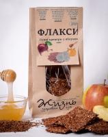 Флаксы льняные с яблоком 100 грамм