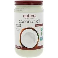 Органическое кокосовое масло, первого отжима,  Nutiva 680 мл  Nutiva