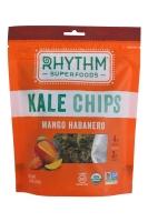 "Raw Kale Chips Mango Habanero Пикантные чипсы из кейла ""манго, хабанеро""57 грамм"