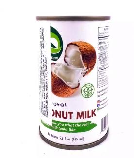 Натуральное кокосовое молоко 165 мл фото №1