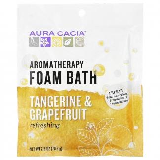Пена-ароматерапия для ванн, освежающий мандарин и грейпфрут, 70.9 грамм фото №1