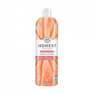 Honest Dish Soap  grapefruit glow, средство для мытья посуды грейпфрут, 709 мл фото №1