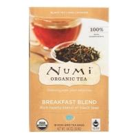 """Organic Tea Breakfast Blend, органический черный чай """"Breakfast Blend"""". 18 пакетиков"""