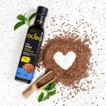 Натуральное масло из семян льна холодного отжима 250 мл