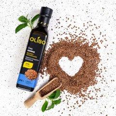 Натуральное масло из семян льна холодного отжима 250 мл фото №1