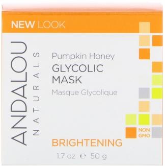 Гликолевая маска с тыквой и медом, осветляющая (50 мл) фото №1