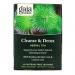 Чай для очищения и детоксикации, без кофеина, 16 пакетиков Gaia Herbs фото №1