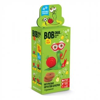"""Натуральные конфеты яблоко-груша с игрушкой """"Улитка Боб"""" 20 грамм фото №1"""