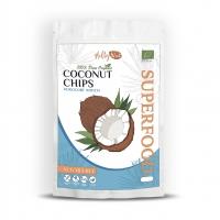 Органические кокосовые чипсы без сахара 90 грм
