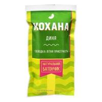 Натуральный батончик без сахара Дыня, 40 грамм