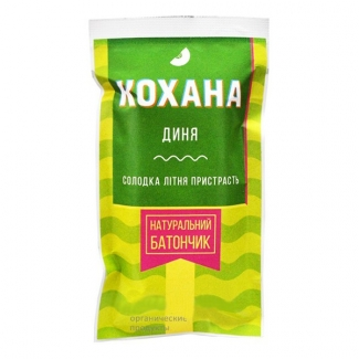 Натуральный батончик без сахара Дыня, 40 грамм фото №1