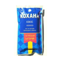 Натуральный батончик без сахара Кокос, 40 грамм