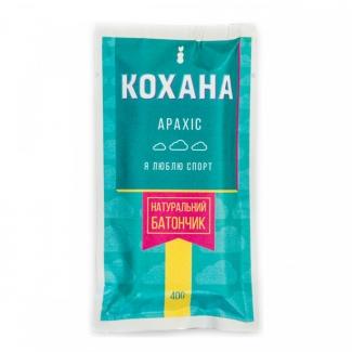 Натуральный батончик без сахара Арахис, 40 грамм  фото №1