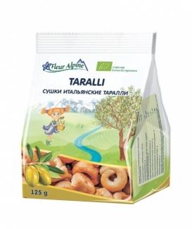 Органические итальянские сушки (бублики) Таралли 125 грм фото №1