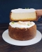 Лимонний чизкейк з лимонним курдом та швейцарською меренгою 1,5 кг Culinary Dreams фото №2