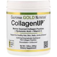 Collagen UP, пептиды коллагена из морских источников + гиалуроновая кислота + витамин С, 205 грамм