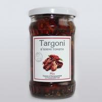 Вяленые томаты Mix в оливковом и кукурузном масле 170грамм