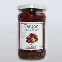 Вяленые томаты Mix в оливковом и кукурузном масле 285 грамм