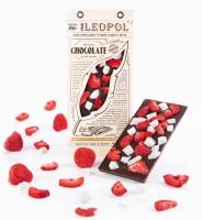 """Натуральный черный шоколад, """"Клубника - кокос"""", 95 грамм"""