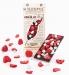 """Натуральный черный шоколад, """"Клубника - кокос"""", 95 грамм Leopol фото №1"""