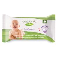 Органические влажные детские салфетки  60 шт.