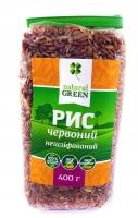 Рис красный цельнозерновой нешлифованный, 400 грамм