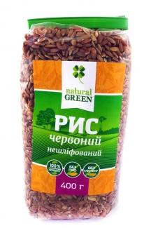 Рис красный цельнозерновой нешлифованный, 400грм фото №1