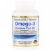 Рыбий жир высшего качества Омега-3, 100 капсул California Gold Nutrition фото №1
