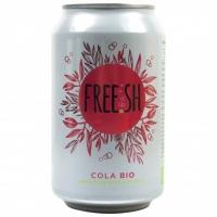 FREE.SH Cola напиток газированный сокосодержащий органический,330мл
