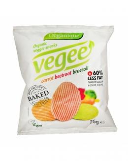 Безглютеновые органические картофельные снеки Vegee 25 грм фото №1