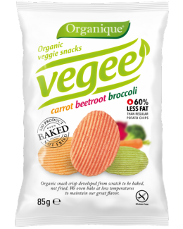 Безглютеновые органические картофельные снеки Vegee 85 грм фото №1