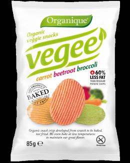 Безглютеновые органические картофельные снеки Vegee 85 грамм фото №1
