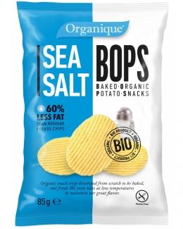 Безглютеновые органические картофельные снеки  с морской солью 85 грм фото №1