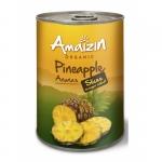 Органические ломтики ананаса без сахара Amaizin, 400 мл.