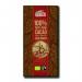 Шоколад черный органический без сахара 100% какао, 100 г. Chocolates Solé фото №1