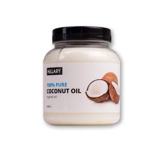 Кокосовое масло рафинированное Hillary Premium Quality Coconut Oil 500мл фото №1